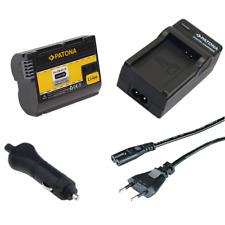 Batteria Patona + caricabatterie casa/auto per Nikon MB-D12,MB-D14,MB-D15