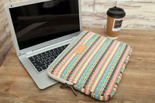 "Canvas 13""13.3"" Laptop Case Bag Notebook Sleeve Bohemian Cover For Asus Lenovo"