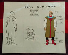 MOTU Model Sheet GALEN NYCROFT Animation Production Art Cel Filmation He-Man