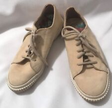 f7e69449cfd04 TOMMY BAHAMA Womens Lt. Tan Leather Lace Up Shoes