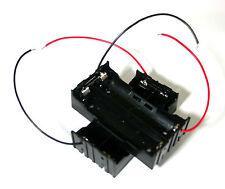 Nuevo plástico de la batería de almacenamiento Funda Soporte Caja De 2 X 18650 paralelo acuerdo 3.7 V
