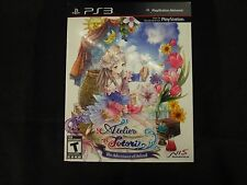 Atelier Totori: The Adventurer of Arland (PlayStation 3, 2011) Brand New Sealed