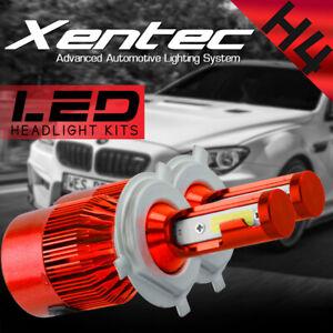 Pair 488W 48800LM 3 Sides LED Headlight Kit H4 HB2 9003 Hi/low beams 6000K Bulbs