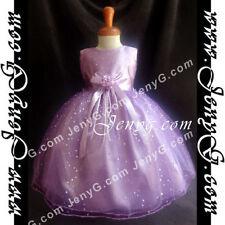 Vêtements violets décontractées pour fille de 2 à 16 ans