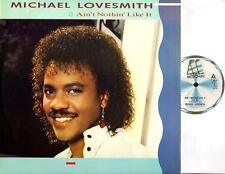 "MICHAEL LOVESMITH ain't nothin' like it 12"" EX/EX ZT 40370 disco, boogie, motown"