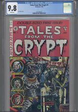 Tales From the Crypt #1 CGC 9.8 1990 Gladstone Jack Davis Cover : New Frame