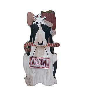 English Bull Terrier Dog Christmas Ornament Brindle Holiday Gift Decor Stocking