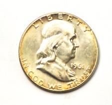 1961 50c Franklin Silver Half Dollar Fifty Cents Philadelphia