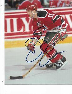 Brendan Shanahan Autographed New Jersey Devils 8X10 Photo