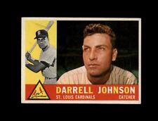 1960 Topps Baseball #243 Darrell Johnson (Cardinals) EXMT