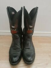 Harley Davidson Motorcycle men's Boots size 10EE style 8600 Black USA