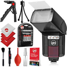 Circuit City Automatic Universal Flash with Video Light for Canon & Accessories
