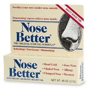 Nose Better NonGreasy Aromatic Relief Gel-0.46 oz.