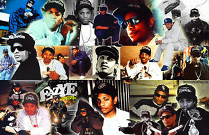 Eazy-E Collage Poster