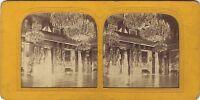 Sala Dei Cariatidi Parigi Stereo Charles Gaudin Vintage Albumina Ca 1860