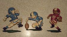 Vintage 1976 Homco Usa 1254 Cast Metal Football Players