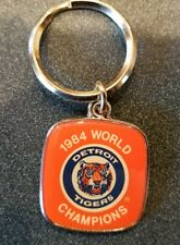 VINTAGE DETROIT TIGERS 1984 WORD SERIES CHAMPS KEY CHAIN