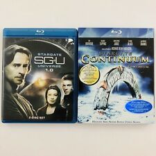 Stargate Universe Season 1.0 and Stargate Continuum on Blu-ray - SG-U