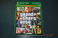 GRAND THEFT AUTO IV Xbox 360 avec carte (Classics) UK PAL ** jouable sur XBOX ONE **