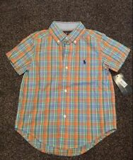 Polo Ralph Lauren Checked Boys' T-Shirts & Tops (2-16 Years)