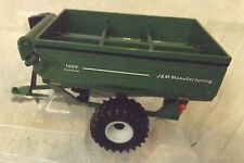 J&M Grain Storm Grain Cart Model 1000-20S-1/64 Scale By Ertl In Original Box