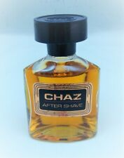 Vintage Revlon CHAZ Aftershave Splash 2.25 oz Missing a drop