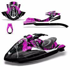Decal Graphic Kit Yamaha Ski Wrap Jetski Waverunner Wave Runner 02-05 REAP PINK