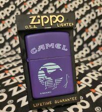 Camel ZIPPO Lighter Midnight Oasis Purple New in Box