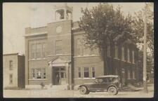 Rp Postcard Dutton Ontario/Canada Early 1900's Local Area Community Hall 1910's