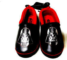 Disney Darth Vader Star Wars Toddler Boy's Slippers House Shoes Medium 7/8 NEW