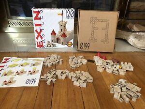 Exin Castle Building Blocks Bricks Set 120 Piece Set