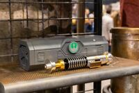 "Disneyland Galaxy Edge Luke Skywalker Lightsaber + 36"" blade & WISDOM TOKEN"