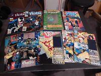 Marvel Comic Books 1993 Venom Spider-Man 30th Ann. Sp. Dark Knight & More