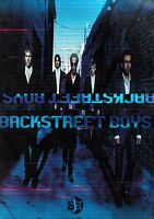 BACKSTREET BOYS 2001 BLACK & BLUE WORLD TOUR CONCERT PROGRAM BOOK / VG 2 EX