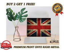 METAL Poster Union Jack GB Flag Art Print Plaque Gift
