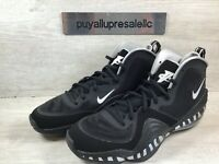 Nike Air Penny V 'Tiger Striped' Black/White/Metallic Silver CZ8782-001 Size 12