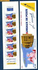 France Bande Carnet BC2744A Journée du Timbre Métiers de la Poste 1992 Neuf Luxe
