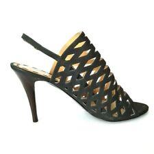 Nine West Women's Gladiator Black Shoes Size 11