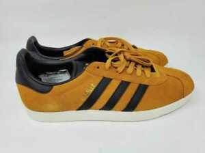 NEW MENS 6 ADIDAS FOR J CREW GAZELLE SNEAKERS SHOES TACTILE YELLOW BLACK