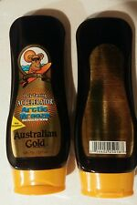 Pair of Australian Gold Arctic Breeze Dark Tanning Accelerator Tanning Lotions