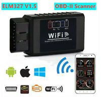 【Wi-Fi】ELM327 OBD2 OBDII Auto Car Diagnostic Scanner Scanning Tool  iOS Android