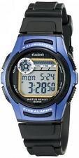 Orologio Illuminator Casio Uomo W-213-2avdf Sveglia Timer Crono Luce Sport Blu