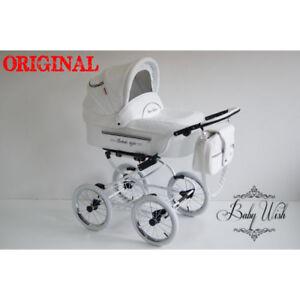ISABELL Kinderwagen Baby Fashion 3in1 CARRYCOT + STROLLER + AUTOSITZ ISOFIX