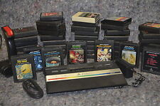 Atari 2600 + 50 Games!!! PAC MAN Asteroids S. Invaders Berzerk Defender Combat