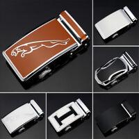 Men's Belt Buckles Metal Automatic Buckle Ratchet Click Buckle For 3.5 cm Belt