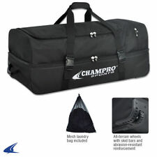 Champro Sports Catcher/Umpire Equipment Bag with Wheels