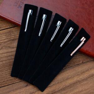 Pen Sleeves pack of 10/20/50 Black Velvet Pouch Case