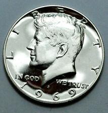 1969-S ULTRA CAMEO PROOF LIKE KENNEDY HALF DOLLAR  $0.50c RARE SILVER COIN!
