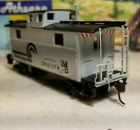 HO Athearn Conrail 2 window caboose car, for train set, New RTR series