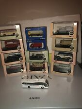 N Gauge Buses And Trucks.